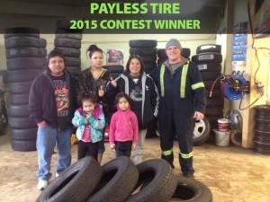 2015 Used Tire Coquitlam Contest Winner
