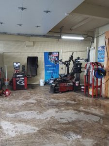 Overview of inside the shop - Tire & Wheel Equipment